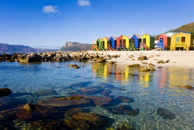 Muizenberg Beach, Cape Town - África do Sul